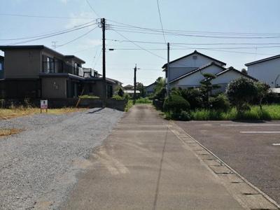 【前面道路含む現地写真】【土地】佐土原町下那珂C区画