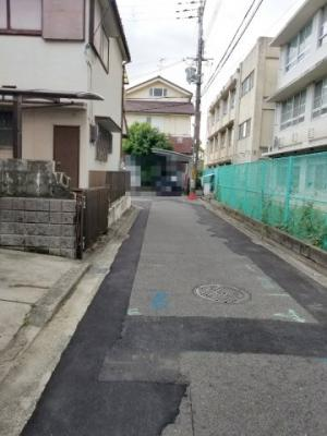 【前面道路含む現地写真】堺市東区大美野 戸建