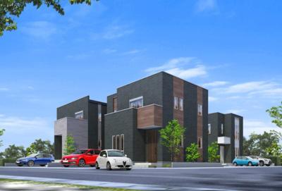 タマホームの新規分譲住宅全3棟