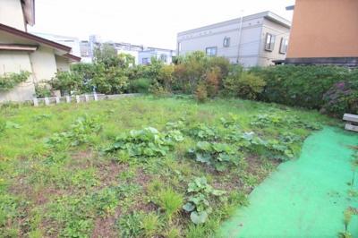 家庭菜園もできる広いお庭です。自宅キャンプもできます