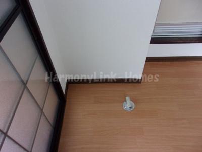 アネックスKの室内洗濯機置場☆