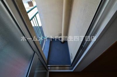【バルコニー】フェルティ―・シャトー緑橋