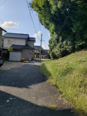【前面道路含む現地写真】鳥取市国府町宮下中古戸建