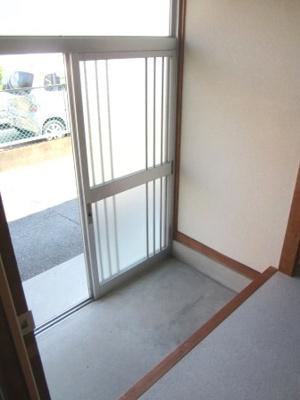 【玄関】木口アパート