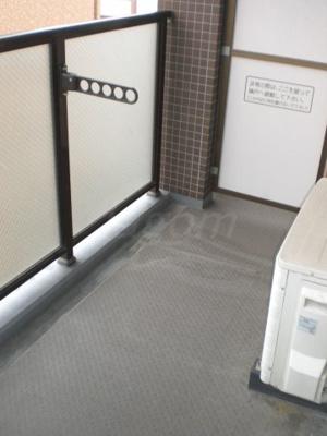【バルコニー】エイペックス東心斎橋II