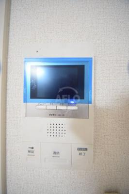 リッツグランテフユキ TVモニター付きインターホン