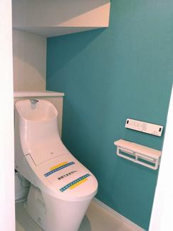 石垣市石垣戸建てD棟 1階トイレ