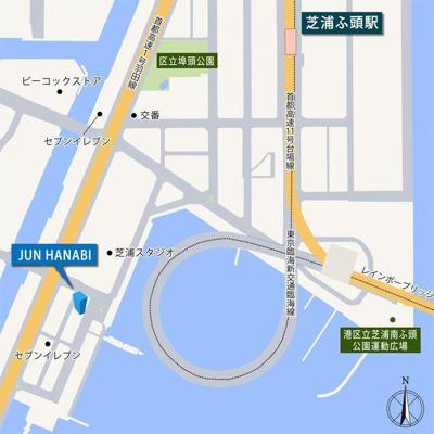 【地図】JUN HANABI