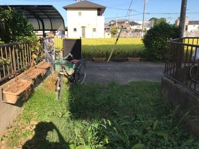 【前面道路含む現地写真】取手市吉田 約46坪