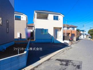 千葉市花見川区さつきが丘 新築一戸建て ※令和3年1月撮影写真です。
