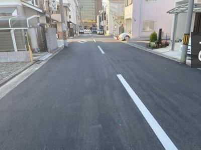 【前面道路含む現地写真】和歌山市新留丁 売土地