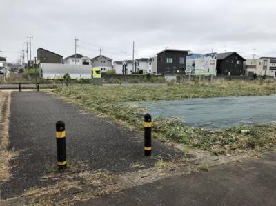 【前面道路含む現地写真】富士見ヶ丘1丁目35番