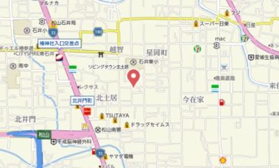【地図】ハイブリッジ B棟