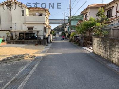 【前面道路含む現地写真】相生市竜泉町/中古戸建