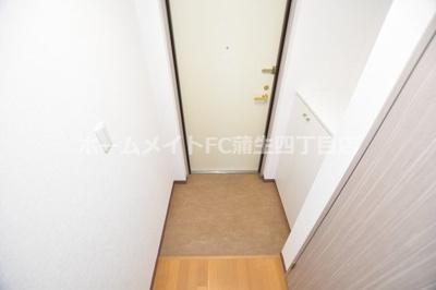 【玄関】グレイスパルコート