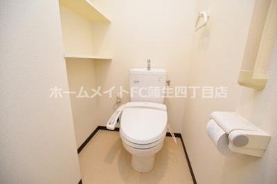 【トイレ】グレイスパルコート