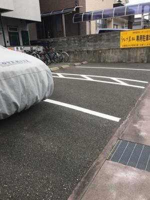 【駐車場】カレッジハイツ