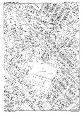 【地図】一里山2丁目