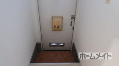 【玄関】長澤ハイツA棟