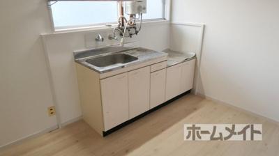 【キッチン】長澤ハイツA棟