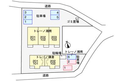 【駐車場】トレーノ鎌倉