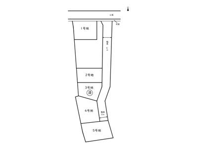 【区画図】揖保郡太子町東南/5区画