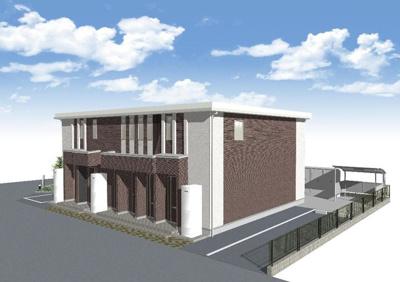 【外観】伊丹市西野1丁目新築工事