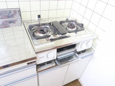 【キッチン】ホワイトプラザ