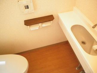 【トイレ】オーベル稲毛海岸