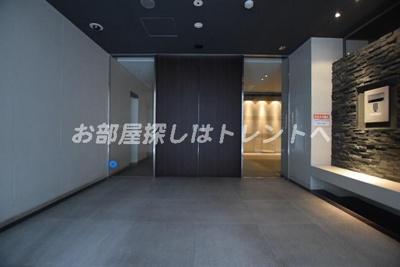 【ロビー】パークハビオ八丁堀