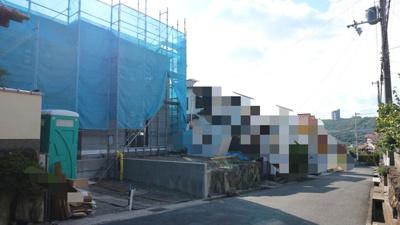 【前面道路含む現地写真】神戸市垂水区つつじが丘 新築戸建