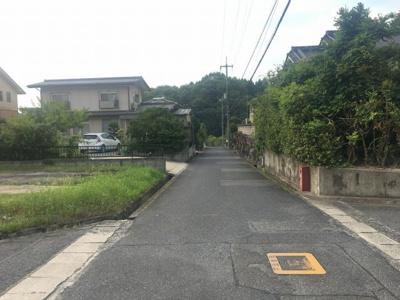 【前面道路含む現地写真】神辺町下竹田売土地