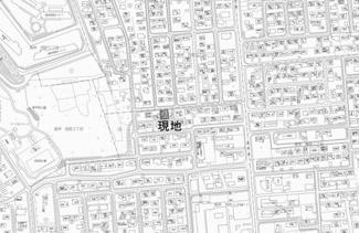 【地図】高栄西町1丁目 中古戸建