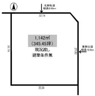 【土地図】豊地 売土地