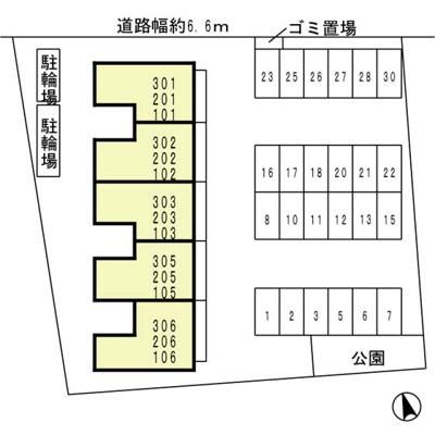 【区画図】ファースト西浜