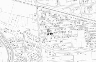 【地図】西三輪3丁目 売土地