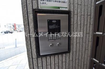 【セキュリティ】アンシャンテ南堀江