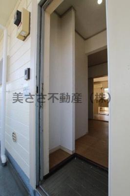 【玄関】ハタノコーポ中野上町