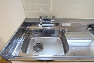 【キッチン】ハタノコーポ中野上町