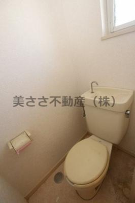 【トイレ】ハタノコーポ中野上町