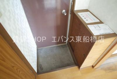 【玄関】第2川奈部荘