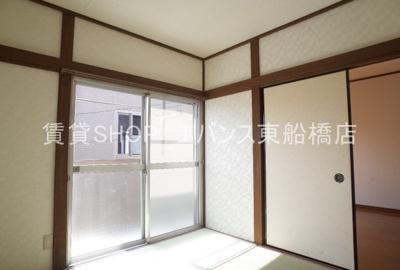 【寝室】第2川奈部荘