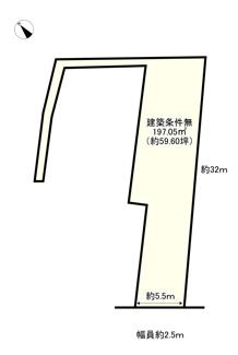 【土地図】守山市山賀町 売土地