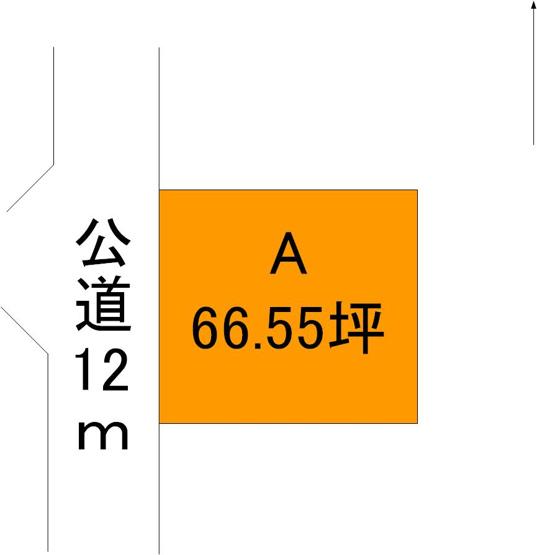 【区画図】ひたちなか市中根2区画