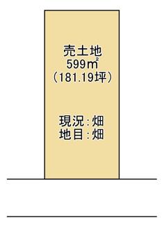 【土地図】守山市服部町 売土地