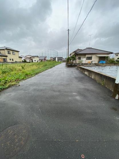 【前面道路含む現地写真】水府町土地