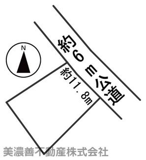 【区画図】55703 揖斐郡大野町土地