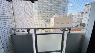 大きな棟が無く開放的な眺望です。