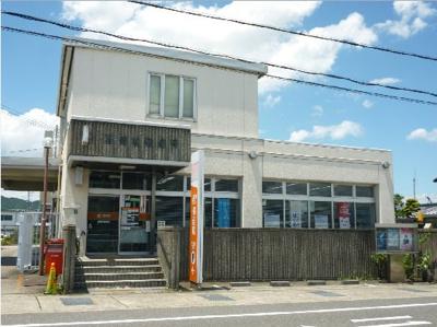 五個荘郵便局(998m)