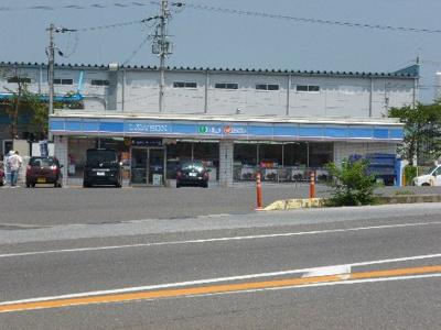ローソン 五個荘簗瀬店(834m)